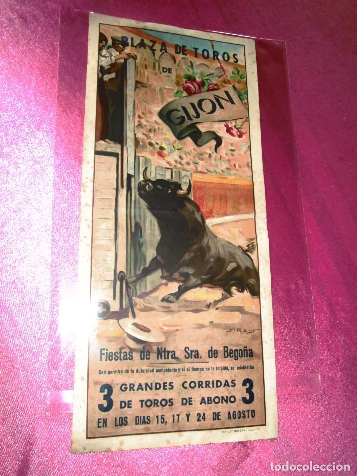 Cartel De Toros Manolete Belmonte Gijon Astur Verkauft In Auktion
