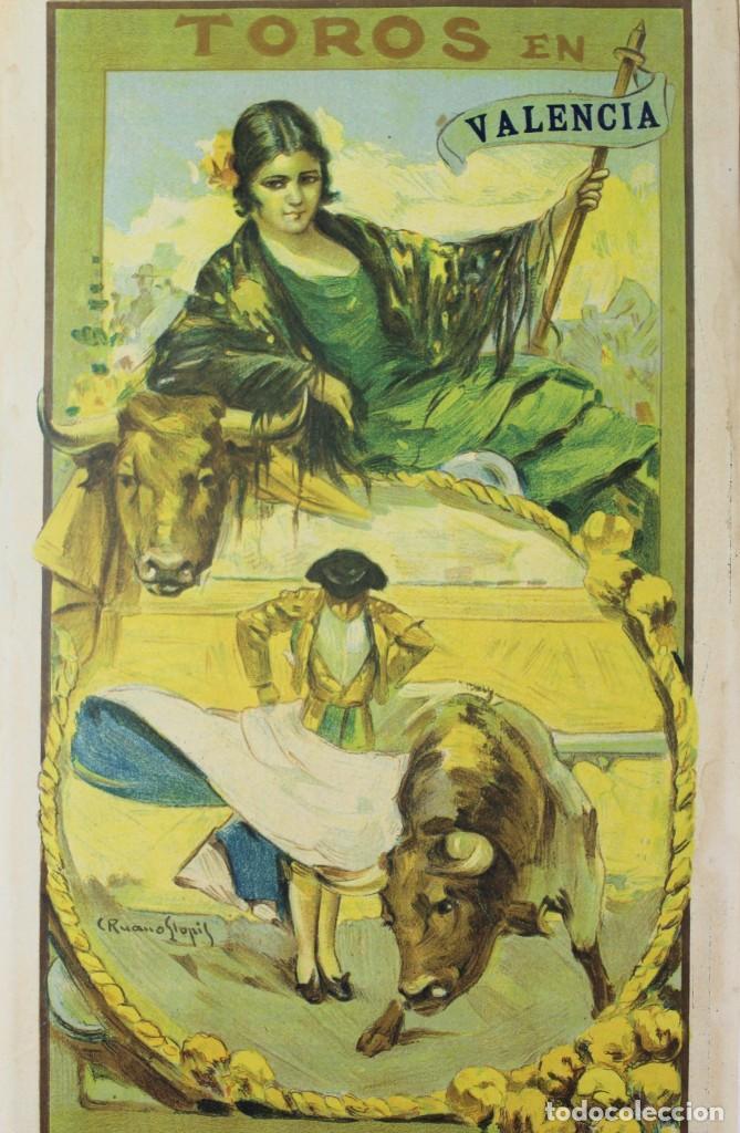 Carteles Toros: CARTEL DE TOROS,VALENCIA,GALLO,BELMONTE,MEJIAS,VILLALTA,AGUERO. JULIO DEL 25 AL 31.AÑO 1926. - Foto 5 - 123097771