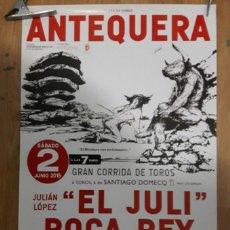 Carteles Toros: CARTEL TOROS ANTEQUERANO . Lote 123386307