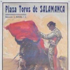 Carteles Toros: CARTEL PLAZA TOROS DE SALAMANCA - AÑO 1952. Lote 124489671