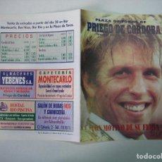 Carteles Toros: 1. PROGRAMA PLAZA DE TOROS PRIEGO DE CORDOBA. Lote 127401623