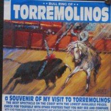 Carteles Toros: 1999 CARTEL PLAZA TOROS DE TORREMOLINOS 25 ABRIL 1999 MED 15X42 CTM. Lote 127692563