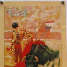 Carteles Toros: 1991 CARTEL PLAZA TOROS DE SEVILLA 20 ABRIL 1991 MED 21X45 CTM. Lote 127693208