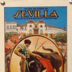 Carteles Toros: 1988 CARTEL PLAZA TOROS DE SEVILLA 2 JUNIO 1988 MED 17X45 CTM. Lote 127693248