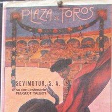 Carteles Toros: 1998 CARTEL PLAZA TOROS DE SEVILLA 15 ABRIL 1998 MED 20X45 CTM. Lote 127693264