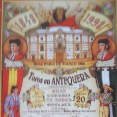 Carteles Toros: 1998 CARTEL PLAZA TOROS DE ANTEQUERA 20-08-1998 MED 22X 38 CTM. Lote 127693880