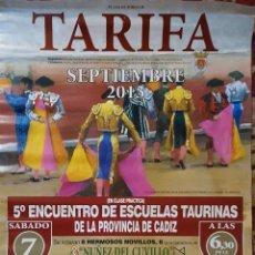 Carteles Toros: 2013 CARTEL PLAZA TOROS DE TARIFA 7 SEPTIEMBRE 2013 MED 46X65 CTM. Lote 127695958