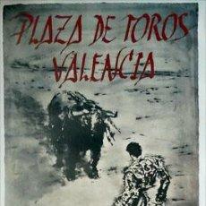 Carteles Toros: CARTEL TAURINO PLAZA DE TOROS DE VALENCIA FERIA DE JULIO 2011 86X54 SIN DOBLAR. Lote 130639014