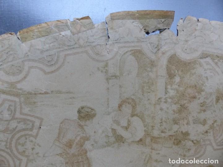 Carteles Toros: PRECIOSO DIBUJO PARA ABANICO CON MOTIVO TAURINO - AÑOS 1900-1910 - Foto 9 - 132558678