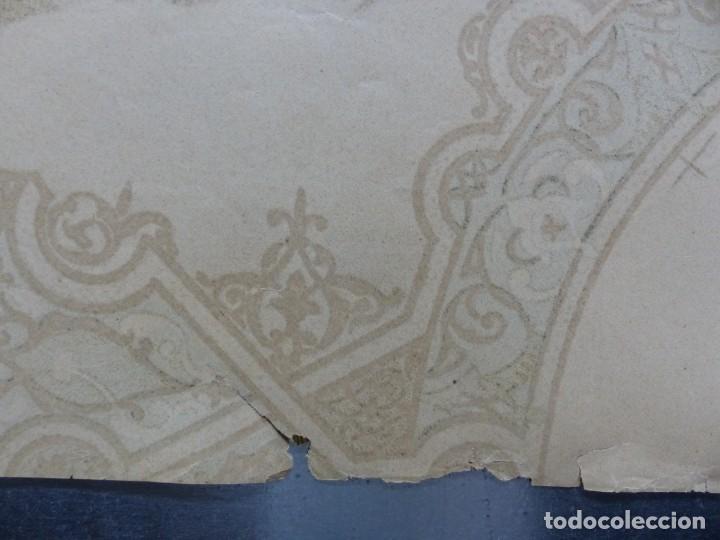 Carteles Toros: PRECIOSO DIBUJO PARA ABANICO CON MOTIVO TAURINO - AÑOS 1900-1910 - Foto 15 - 132558678