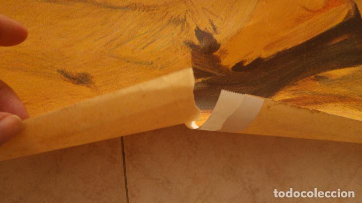 Carteles Toros: PRECIOSO CARTEL DE TOROS PASE TORERO - ILUSTRADOR RUANO LLOPIS. AÑOS 50. LITOGRAFICO - Foto 6 - 132585722