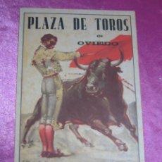 Carteles Toros: CARTEL DE TOROS FERIA SAN MATEO RAFAELILLO Y OTROS OVIEDO AÑO 1941. Lote 133982442
