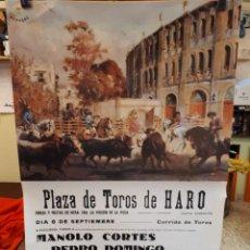 Carteles Toros: CARTEL TOROS, HARO, 1969, OSBORNE.. Lote 134319022