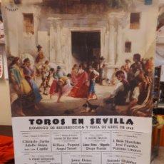 Carteles Toros: CARTEL TOROS SEVILLA 1968, OSBORNE. Lote 134433094