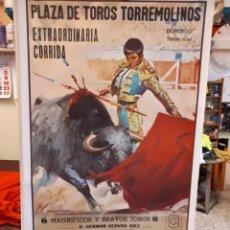 Carteles Toros: CATEL TOROS, TORREMOLINOS, PAQUIRRI, 1978. Lote 135485034