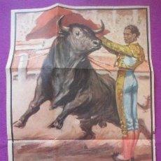 Carteles Toros: CARTEL TOROS, PLAZA MALAGA, 1964, BIENVENIDA, LITRI, PALMEÑO. Lote 135953590