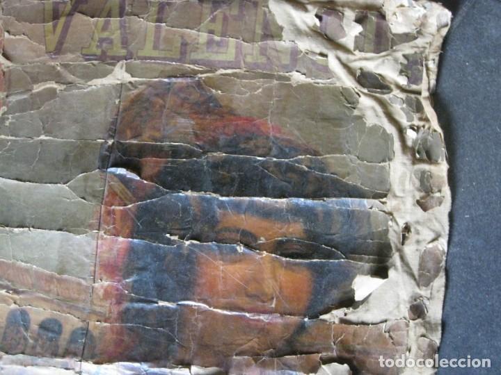 Carteles Toros: antiguo cartel toros entelado . doble cara plaza toros monumental joselito clavel Valencia 1/ 0,5 m - Foto 3 - 137334382