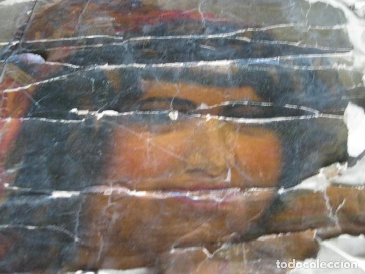 Carteles Toros: antiguo cartel toros entelado . doble cara plaza toros monumental joselito clavel Valencia 1/ 0,5 m - Foto 5 - 137334382