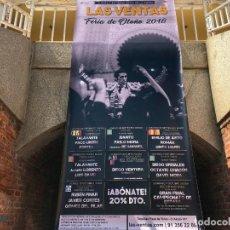 Carteles Toros: CARTEL TOROS MADRID OTOÑO 2018 PUERTA GRANDE DE URDIALES CONSAGRACIÓN MUY EXCASO. Lote 140269014