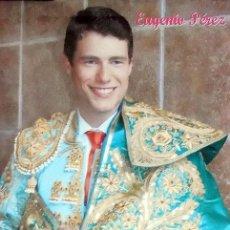 Carteles Toros: ALICANTE TOROS CARTEL TAURINO EUGENIO PEREZ, EN EL DORSO PUBLICIDAD DEL DESAPARECIDO HOTEL SIDI S. J. Lote 144344042