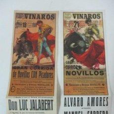 Carteles Toros: CARTEL - GRAN CORRIDA DE TOROS - PLAZA DE TOROS VINAROS - AGOSTO 1983-84. Lote 145468730