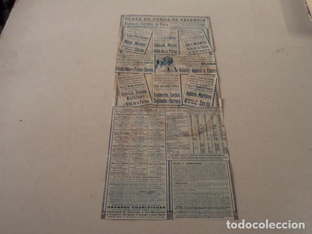 Carteles Toros: CARTEL TOROS EN VALENCIA AÑO 1926 - GALLO-JUAN BELMONTE… - Foto 3 - 146394694