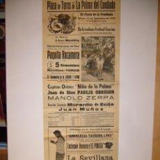 Carteles Toros: CARTEL DE TOROS. Lote 147400774