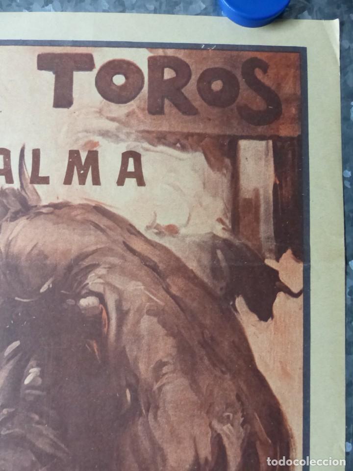 Carteles Toros: CARTEL TOROS PALMA DE MALLORCA - 17 DE SEPTIEMBRE DE 1933 - IMP. LIT. ORTEGA - RUANO LLOPIS - Foto 5 - 149116982