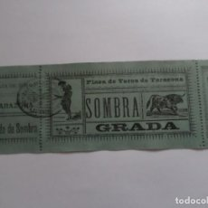 Carteles Toros: ENTRADA PLAZA DE TOROS DE TARAZONA. Lote 149491934