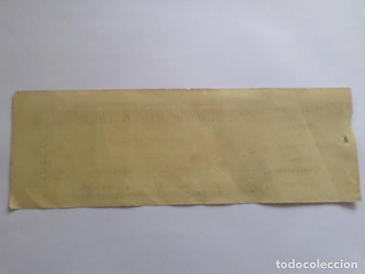 Carteles Toros: ENTRADA PLAZA DE TOROS DE TUDELA NAVARRA AÑO 1885 - Foto 6 - 149494674