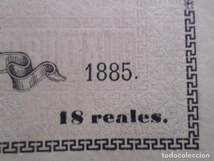 Carteles Toros: ENTRADA PLAZA DE TOROS DE TUDELA NAVARRA AÑO 1885 - Foto 9 - 149494674