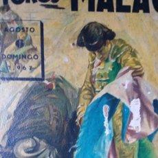Carteles Toros: PLAZA DE TOROS DE MALAGA, GREGORIO SANCHEZ, MIGUEL MATEOS ;MIGUELIN Y SANCHEZ BEJARANO 1967. Lote 150303998