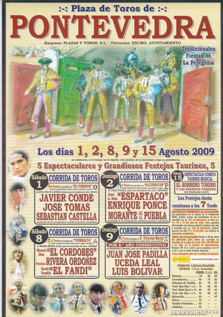 Cartel Plaza De Toros De Pontevedra Fiestas De Comprar Carteles Antiguos Toros En Todocoleccion 150397838