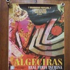 Carteles Toros: ALGECIRAS REAL FERIA TAURINA 2010. Lote 150615306