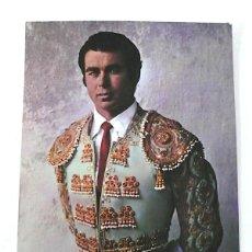 Carteles Toros: TARJETÓN DE PAQUIRRI LLENO DE AUTÓGRAFOS AL DORSO. Lote 150813046