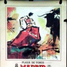 Carteles Toros: CARTEL. PLAZA DE TOROS LAS VENTAS ( MADRID ). 24 FESTEJOS TAURINOS. 1989. LEER.. Lote 152376586
