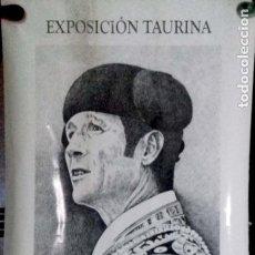 Carteles Toros: EXPOSICION TAURINA. F. ARNIZ. SANLUCAR DE BARRAMEDA. AÑO 2000. LEER.. Lote 152377258