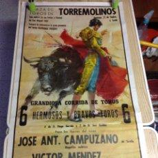 Carteles Toros: PLAZA DE TOROS DE TORREMOLINOS 1981. Lote 152915948