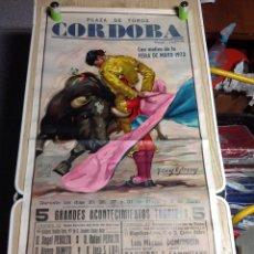 Affissi Tauromachia: PLAZA DE TOROS CÓRDOBA 1973. Lote 152949918