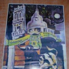 Carteles Toros: CARTEL FERIAS Y FIESTAS DE GUIJUELO - AGOSTO DE 1998 - TOROS. Lote 153260234