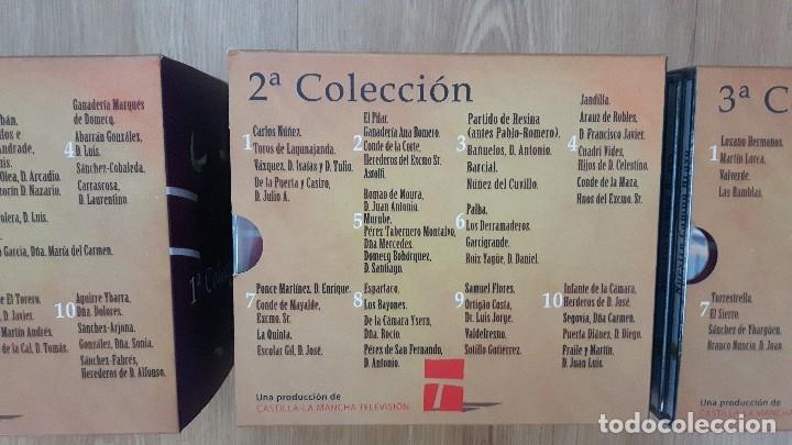 Carteles Toros: cartel toros dvd 30 original Nuestro campo bravo coleccion completa descatalogado difícil de encontr - Foto 4 - 153557982