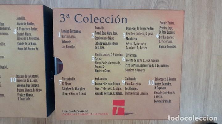 Carteles Toros: cartel toros dvd 30 original Nuestro campo bravo coleccion completa descatalogado difícil de encontr - Foto 5 - 153557982