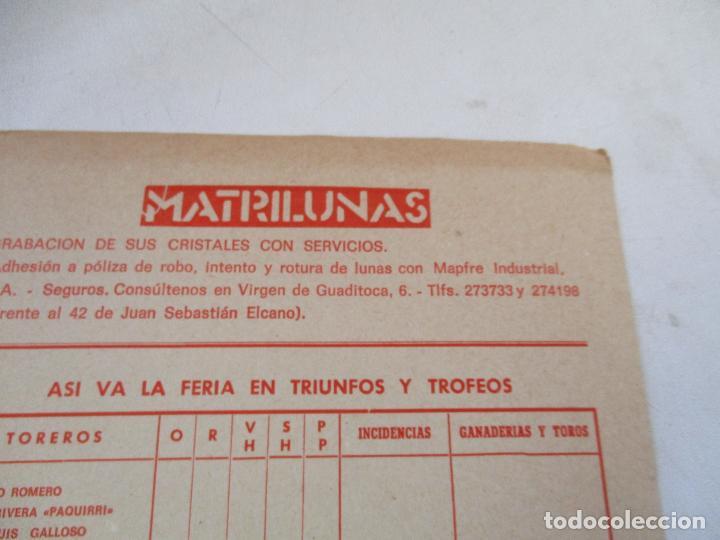 Carteles Toros: PLAZA DE TOROS DE LA REAL MAESTRANZA DE SEVILLA 1984-PROGRAMA DE MANO- 23 X 16 CM.-UNA HOJA - Foto 2 - 153691886