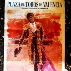Carteles Toros: CARTEL DE CORRIDA DE TOROS - HOMENAJE A CURRO VALENCIA - 27 OCTUBRE AÑO 1996-TAMAÑO 100 X 48 CMSX. Lote 153746418