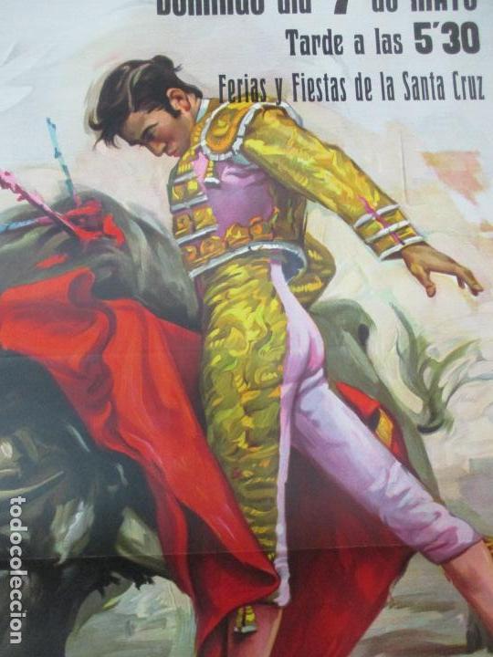 Carteles Toros: Poster, Cartel de Toros, Barcelona - Ferias y Fiestas de Santa Cruz - Ortega Cano - Foto 4 - 153935142