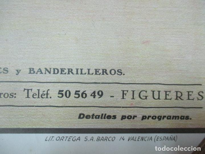 Carteles Toros: Poster, Cartel de Toros, Barcelona - Ferias y Fiestas de Santa Cruz - Ortega Cano - Foto 7 - 153935142