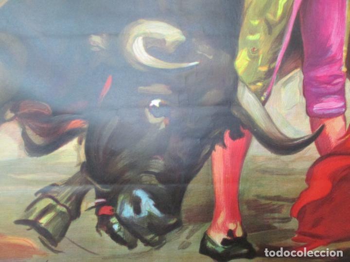 Carteles Toros: Poster, Cartel de Toros, Barcelona - Ferias y Fiestas de Santa Cruz - Ortega Cano - Foto 10 - 153935142