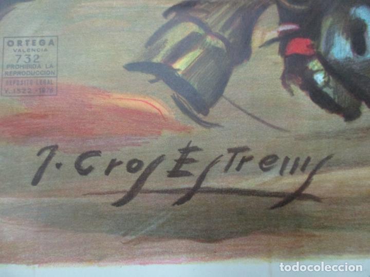 Carteles Toros: Poster, Cartel de Toros, Barcelona - Ferias y Fiestas de Santa Cruz - Ortega Cano - Foto 11 - 153935142
