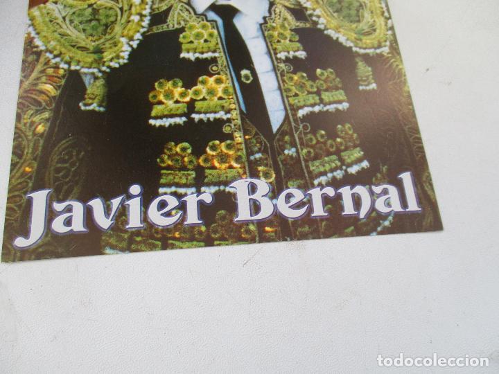Carteles Toros: FOTO DE : JAVIER BERNAL- 22.5 X 16.5 CM.-CON PROPAGANDA DE CREVILLENTE - Foto 2 - 154403710