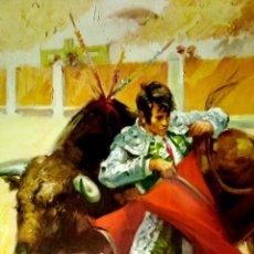 Carteles Toros: LAMINA. ESCENAS TAURINAS. BALLESTAR.. Lote 154862270